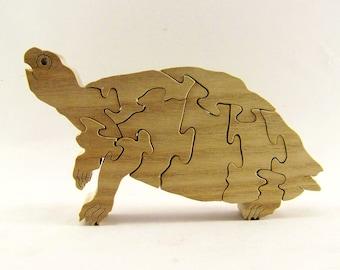 Turtle Wood Puzzle