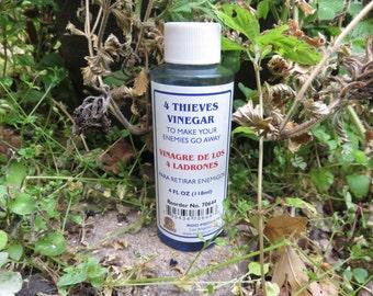 Azure Green  4 Thieves Vinegar  Indio products  4 oz.