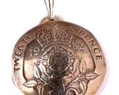 1982 - 2008 Made In England Birth Year Coin Jewelry 16th 18th 20th 21st 30th Anniversary Birthday Gift For Her AskIfYearAvailable