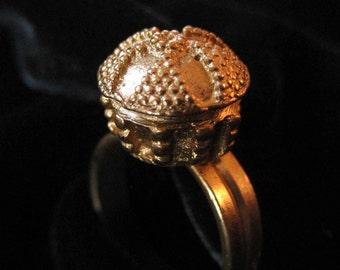 Alva Musuem Replicas Byzantine Granulated Gold Ring Replica