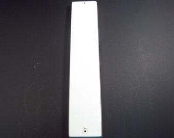 Letter I White Plastic 24 Inch Vintage Industrial Salvage Sign Upper Case Letter