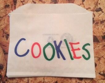 Cookie Bags 25 Bags-Cookie Monster Parties-cookie exchange-bakeries