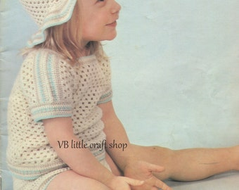 Toddlers pullover, hat and pants crochet pattern. Instant PDF download!