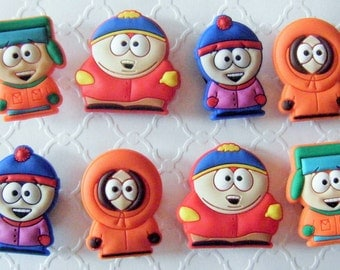 Like South Park Magnets or Shoe charms