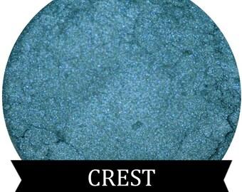 Teal Blue Eyeshadow CREST