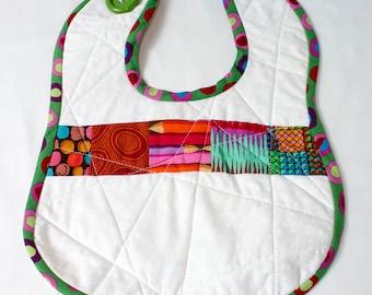 Handmade Quilted Baby Bib