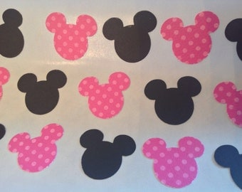 30 pc Minnie Mouse Stickers  Birthday  Shower  New Baby