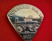 Music Guitar Pick Token Studebaker Electric Car Souvenir Tokens Golf Ball Markers Musician Picks