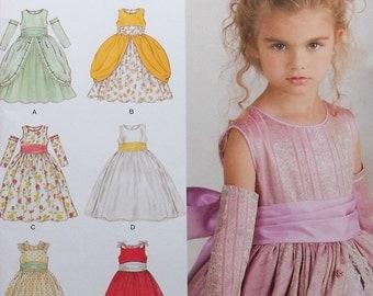 Princess Gown Sewing Pattern UNCUT Simplicity 1508 Sizes 4-8  dress