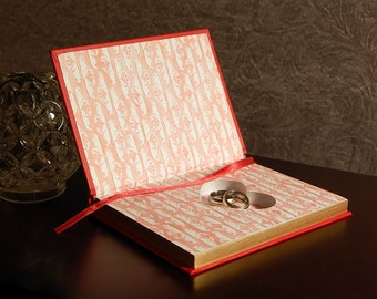 Hollow Book Safe with Heart (The Book of Love)