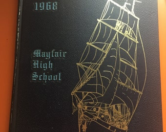 RARE 1968 Mayfair High School Year Book Annual Lakewood California
