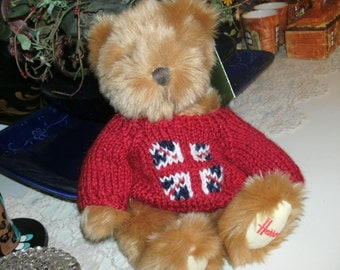 Teddy Bear From Harrods Department Store In England