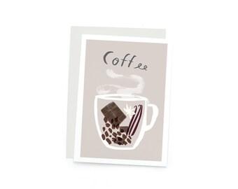 Coffee Profile A6 Single Card