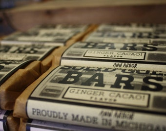 6 MONTHS OF BARS - Individually Wrapped Organic Granola bars - Your Choice!
