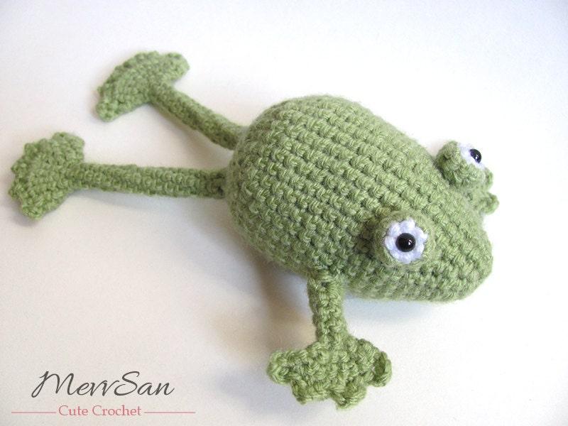 Crochet PATTERN PDF Amigurumi Frog crochet pattern frog