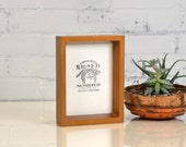 """5x7"""" Picture Frame in Park Slope Style with Solid Roman Gold Finish - IN STOCK - Same Day Shipping - 5 x 7 Frame"""