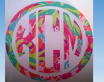 Vinyl Monogram .. 2-5 inches
