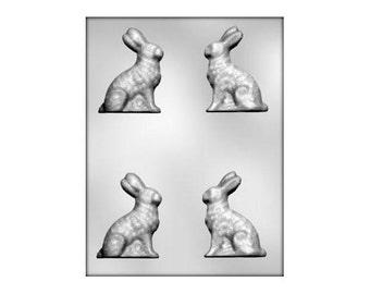 Chocolate Bunny Mold, Rabbit Chocolate Mold, Easter Bunny Chocolate Mold, Rabbit Candy Mold