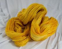 Merino Fingering Yarn, Cush Fingering, Colmans, Hand Dyed