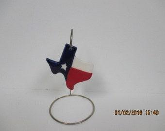 "Texas Christmas Ornaments 3.5"" Set of two"