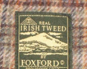 Irish Tweed Blanket/Throw