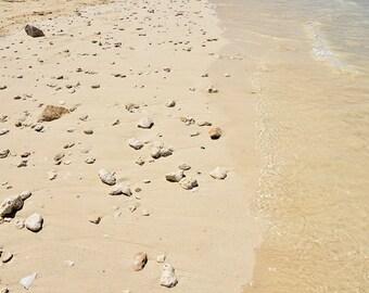 Rocks on the shore