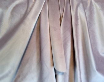 Dusty LAVENDER SOFT VELVET Upholstery Fabric 29-22-11-0816