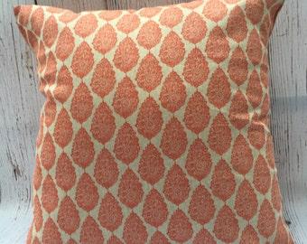 Pillow Cover,  18 x 18 Decorative Pillow, Throw Pillow, Toss Pillow, Accent Pillow