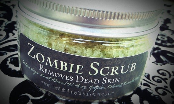 Zombie Scrub - Removes Dead Skin - Exfoliating Sugar Scrub
