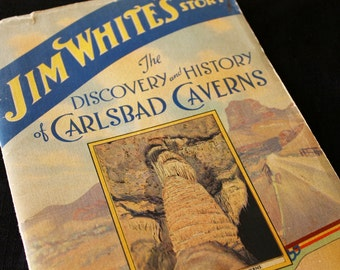 Carlsbad Caverns Souvenir Booklet, Jim White, 1945