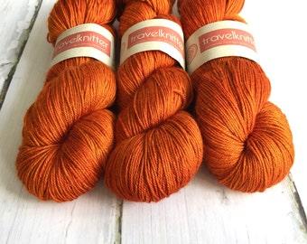 Tanami baby camel and silk 4ply yarn -  Uluru