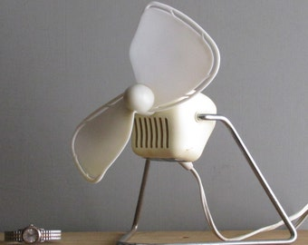 mid century fan - Carframo  Electric Desk Fan - atomic - its got the look!