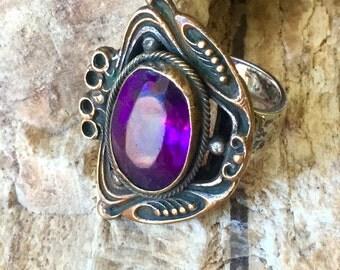Vintage Nouveau Ring