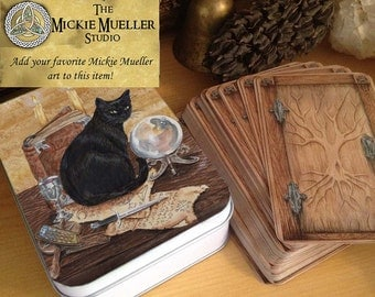 Special Request,Tarot Tin, Pick Your Fave Mickie Mueller Art
