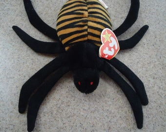 Vintage 1996 Ty Spinner the Spider Beanie Baby