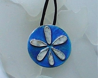 Torch Enameled Sand Dollar