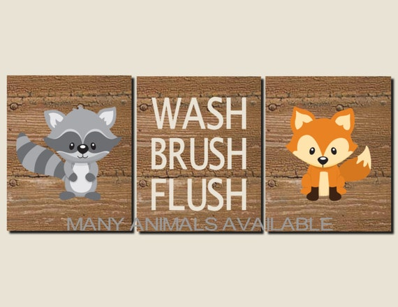 Unavailable listing on etsy for Animal themed bathroom decor