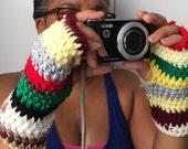 PDF Easy Crochet Pattern, Instant download, Crochet Hand Warmer Pattern, Easy Fingerless Gloves Pattern, Adult Tween Teen Hand Warmer
