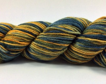 Hand dyed worsted yarn - Atlantis
