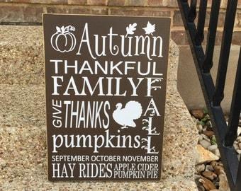 Thanksgiving Decor ~ READY TO SHIP ~ Fall Wedding ~ Thanksgiving Decoration ~ Fall Decor ~ Halloween Decor ~ Autumn Wedding ~ Autumn