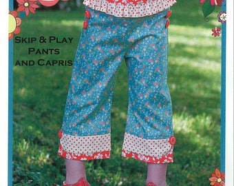 The Cottage Mama Skip & Play Pants and Capris Pattern