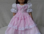 Summer Party Dress,OOAK,  Southern Belle for your American Girl doll