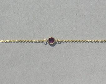 Swarovski February Birthstone Bracelet