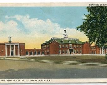 University of Kentucky Lexington KY 1946 postcard