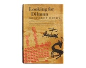 """SALE! Joseph Low book cover design, 1969. """"Looking for Dilmun"""" by Geoffrey Bibby"""
