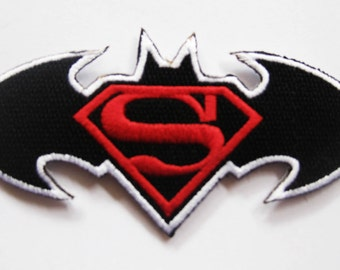 Free shipping SUPERMAN sew iron Patch Badge