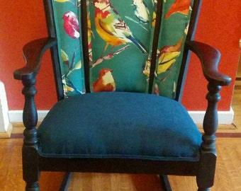Local pick up only!  Restored Antique Rocker