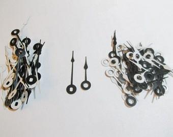 125 pr New Spaded Clock Hands (SUPER SALE)  For Scrapbooking, Steampunk, Embellishment