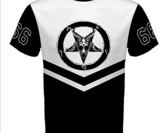 Team Satan 2 tone Tee shirt