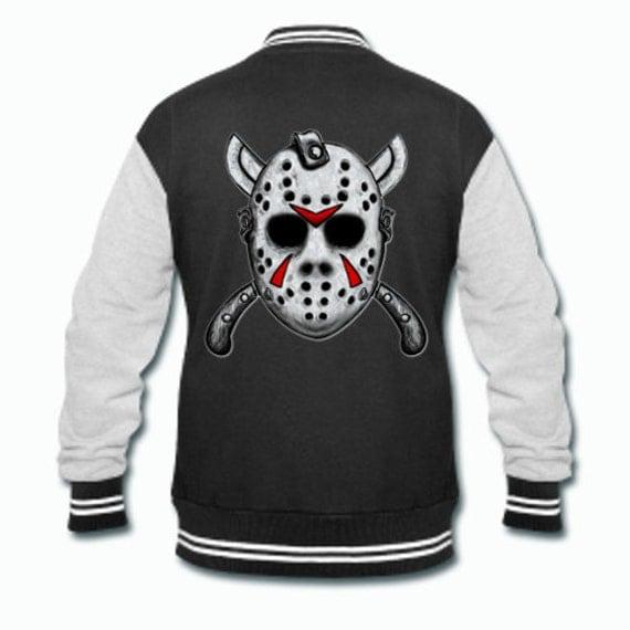 Friday the 13th Jason Varsity Jacket Sweater